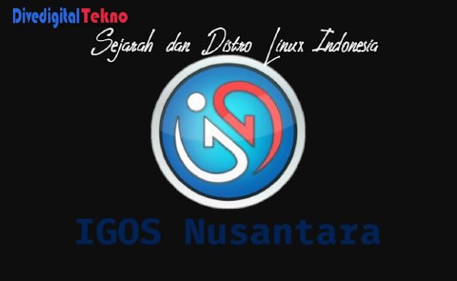 sejarah dan distro linux terbaik indonesia