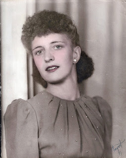 vintage portrait woman