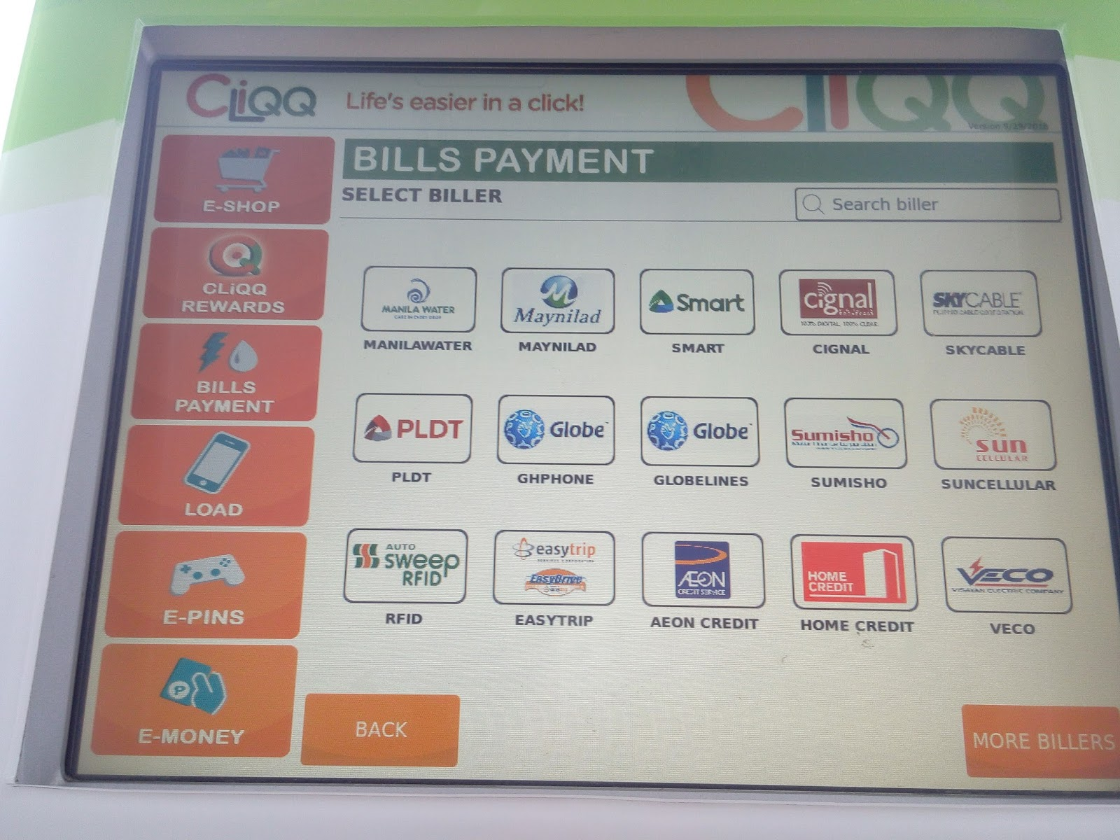 mom's reverie: Bills Payment at 7-Eleven Cliqq