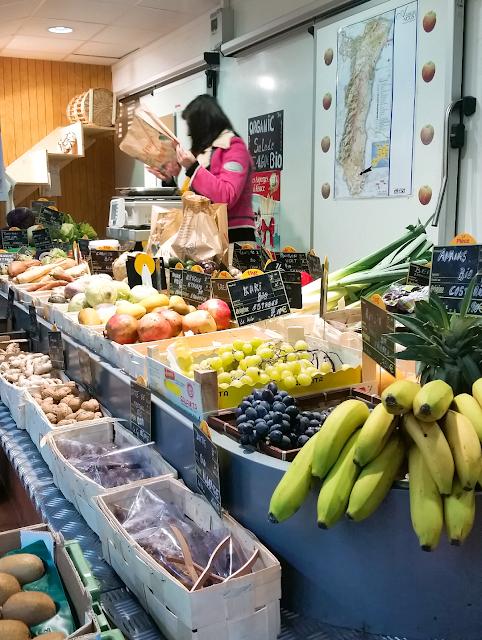 Le marché couvert de Metz