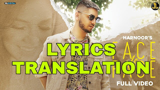 Face To Face Lyrics Meaning/Translation in Hindi – Harnoor