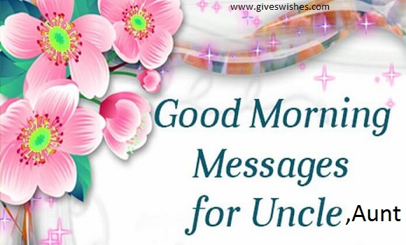 Good morning message for lovely uncle and aunt good morning quotes good morning quotes for dear uncle and aunt m4hsunfo