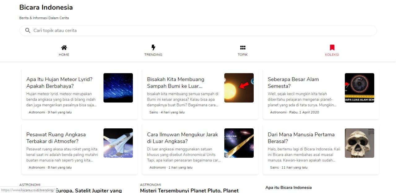 [Review Website] Website Bicara Indonesia untuk Menambah Wawasan