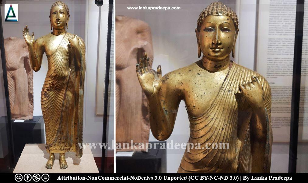 Veheragala Standing Buddha Statue