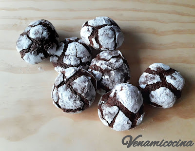 Crinkle chocolate
