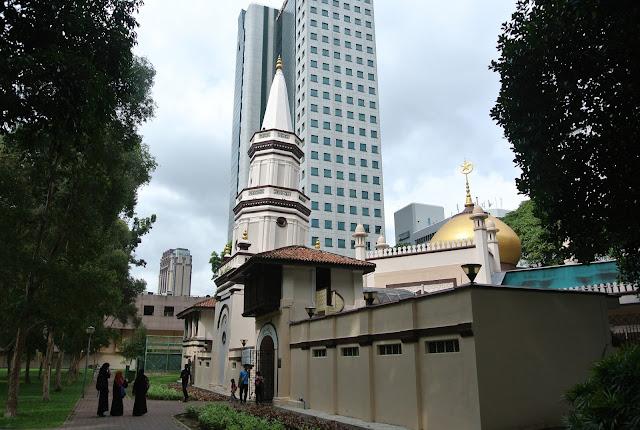 Giới thiệu nhà thờ Hồi giáo Hajjah Fatimah