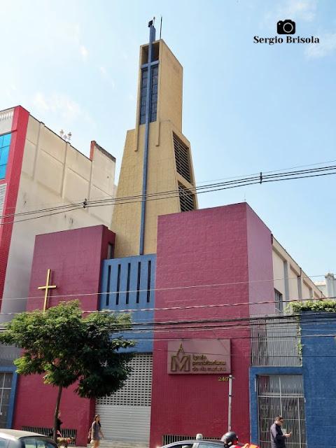 Vista ampla da Igreja Presbiteriana de Vila Mariana - São Paulo