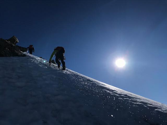 Continuació cap al cim