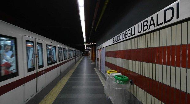Metro A, manca il personale in stazione: chiusa la fermata Baldo degli Ubaldi