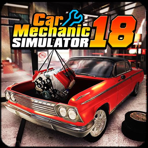 Car Mechanic Simulator 18 v1.2.4 Apk Mod [Dinheiro Infinito]