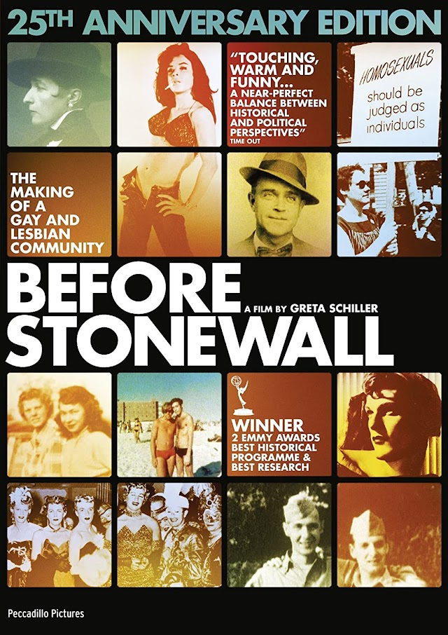 """FILM LGBT """"BEFORE STONEWALL"""" IN STREAMING - IL CINEMA IN CASA"""