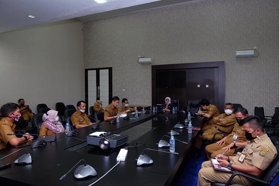 Rahma Pimpin Rapat Pembahasan Penanganan Bencana Alam dan Pasca Bencana