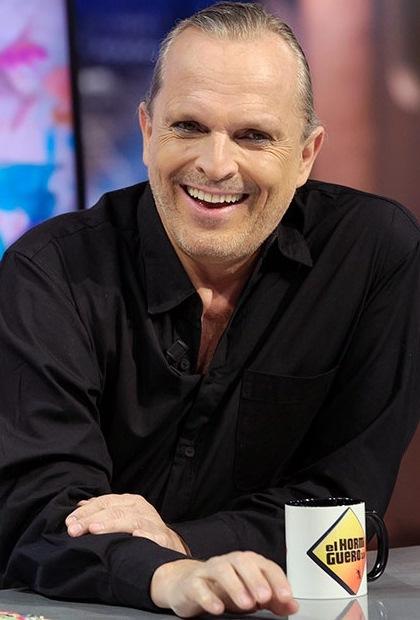 Foto de Miguel Bosé en programa de TV