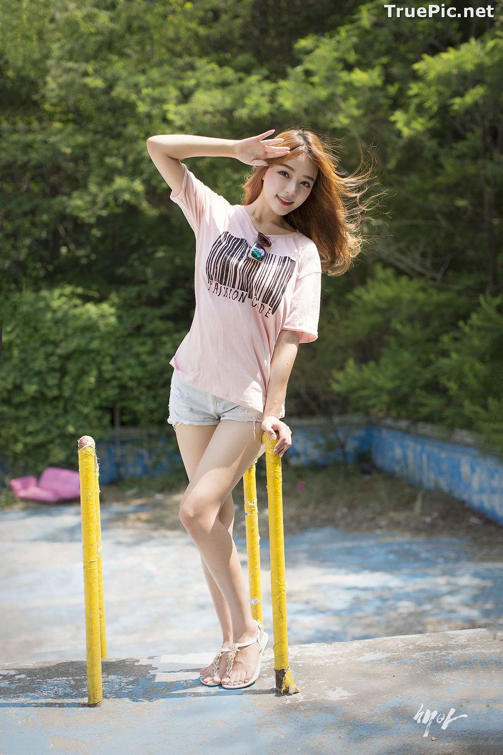 Image Korean Cute Model - Ji Yeon - You Can Follow Me - TruePic.net - Picture-6