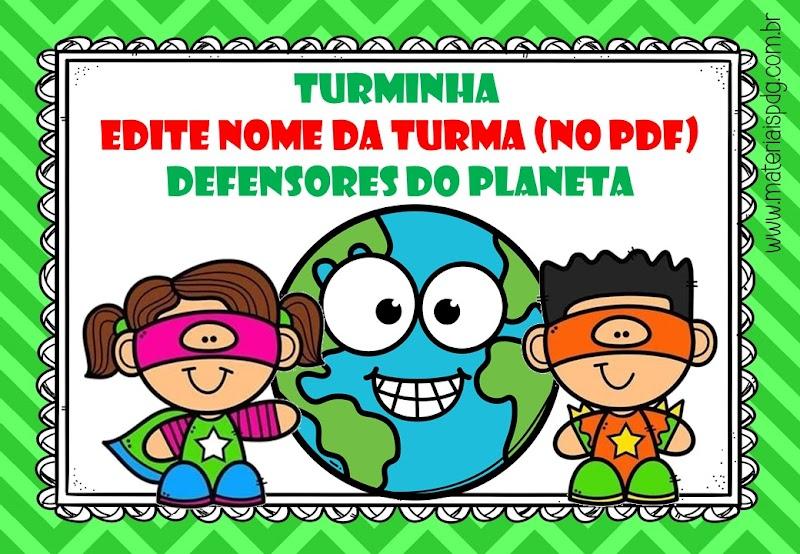 LIVRO - DEFENSORES DO PLANETA - PDF EDITÁVEL
