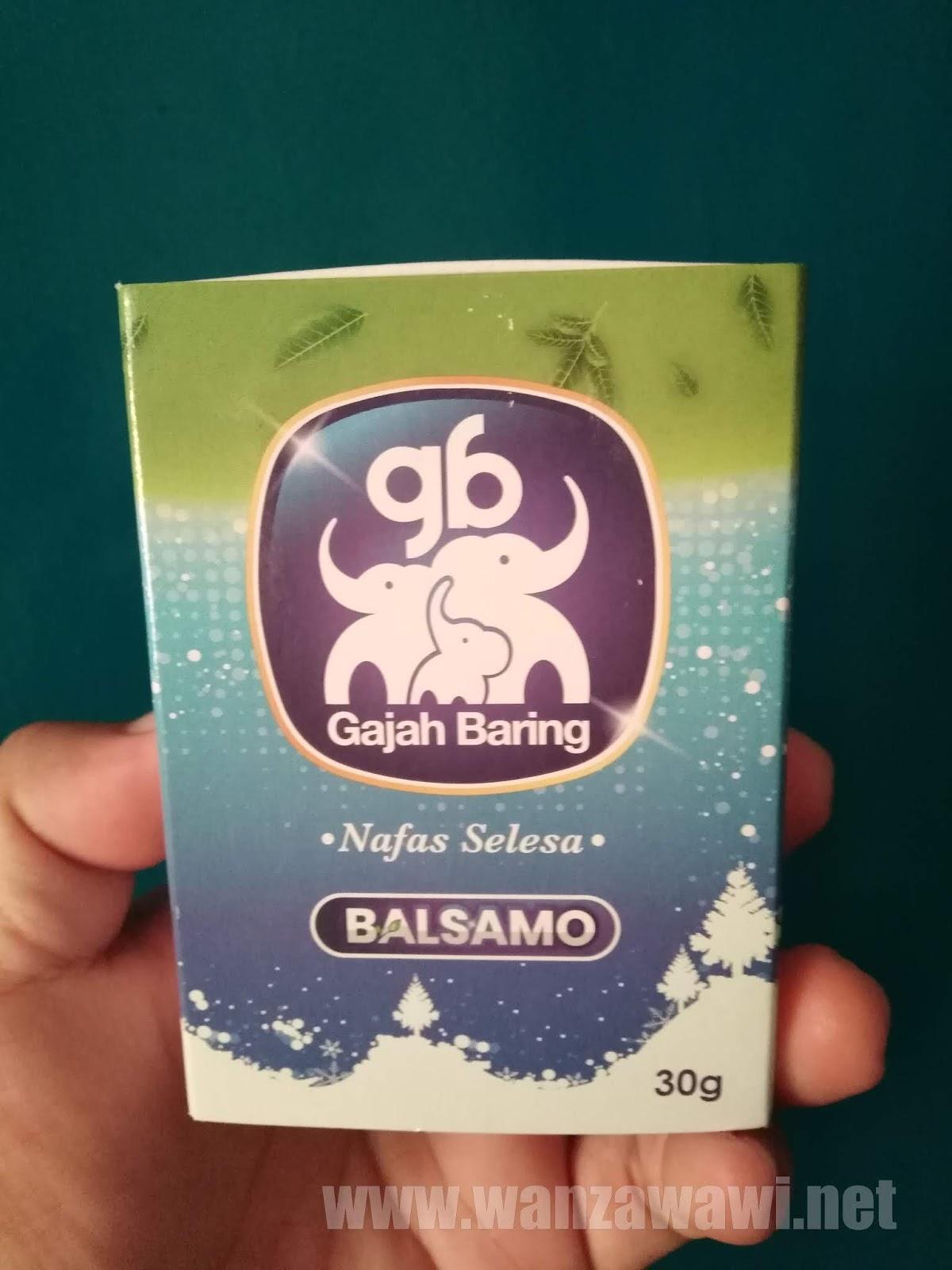 gajah baring garlic balm balsamo