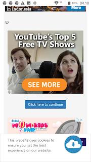 Langkah 3: Cara melewati iklan (bypass ads) Shrinkme.io