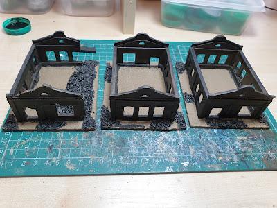 3 Faller Boiler Houses picture 1