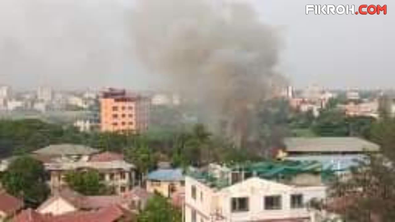 Myanmar Makin Ngeri, Pabrik Cina Dibakar, 39 Orang Tewas