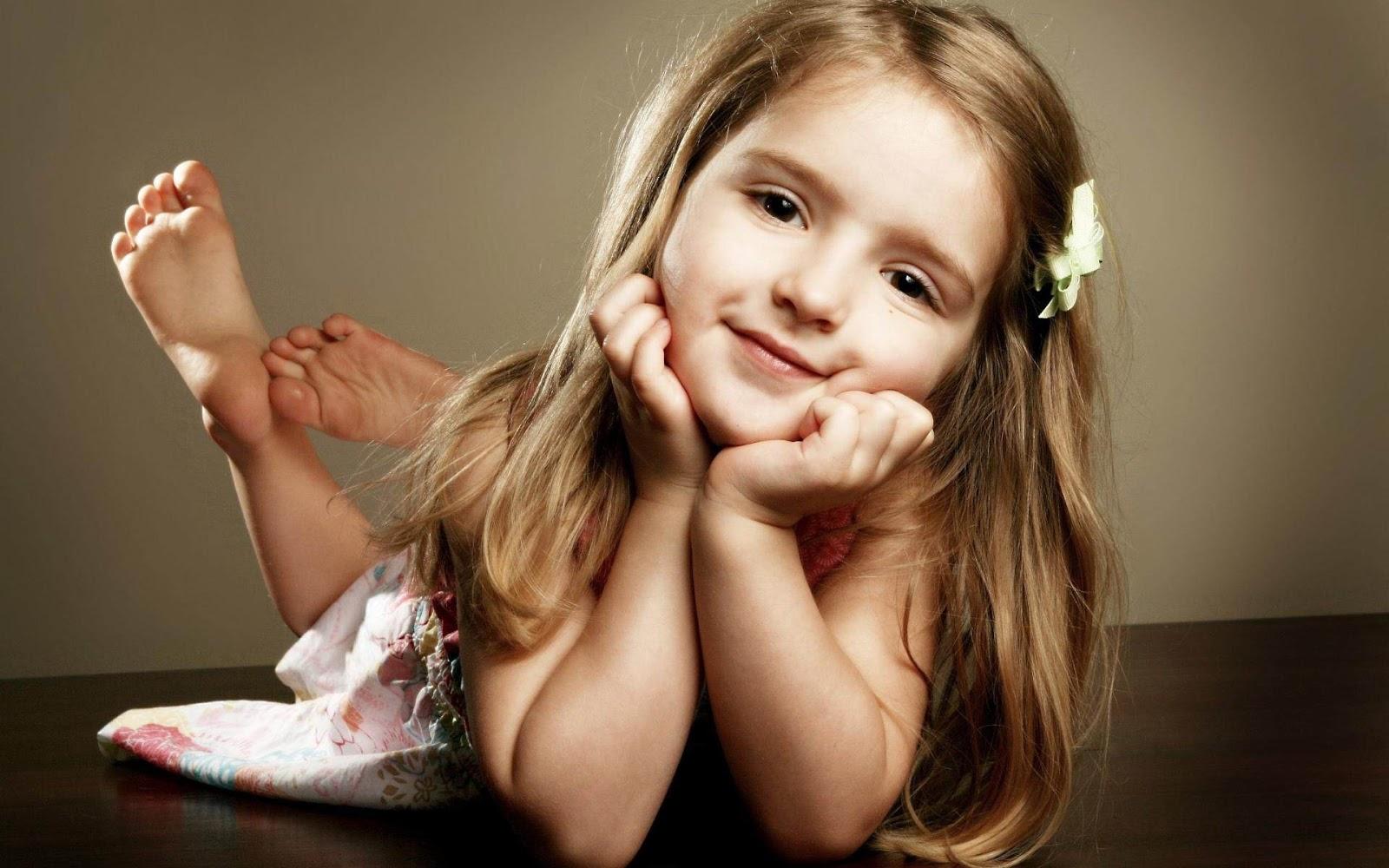 Cute Little Baby Girl HD Wallpaper 1920 X 1200