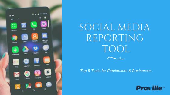Social Media Reporting Tool -003