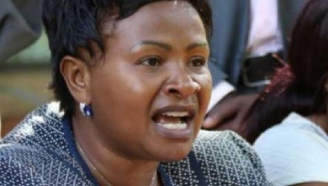 CAS Wavinya Ndeti blocked by Chinese contractor at Likoni channel, Photos