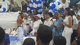 Aspirante a diputado por el PRD Noel Luna demostró capacidad de convocatoria y de trabajo de recuperación de ese partido en San Cristóbal