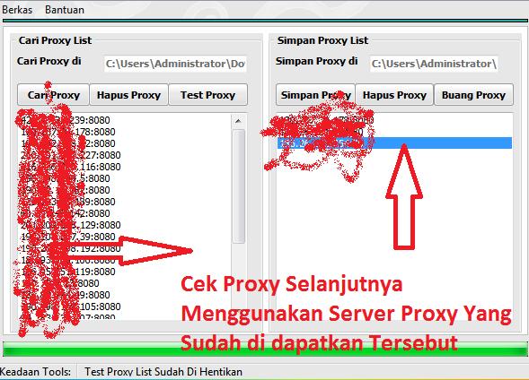 Public proxy list spain