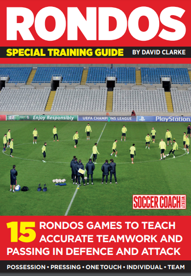 15 RONDOS GAMES TO TEACH ACCURATE TEAMWORK AND PASSING IN DEFENCE AND ATTACK