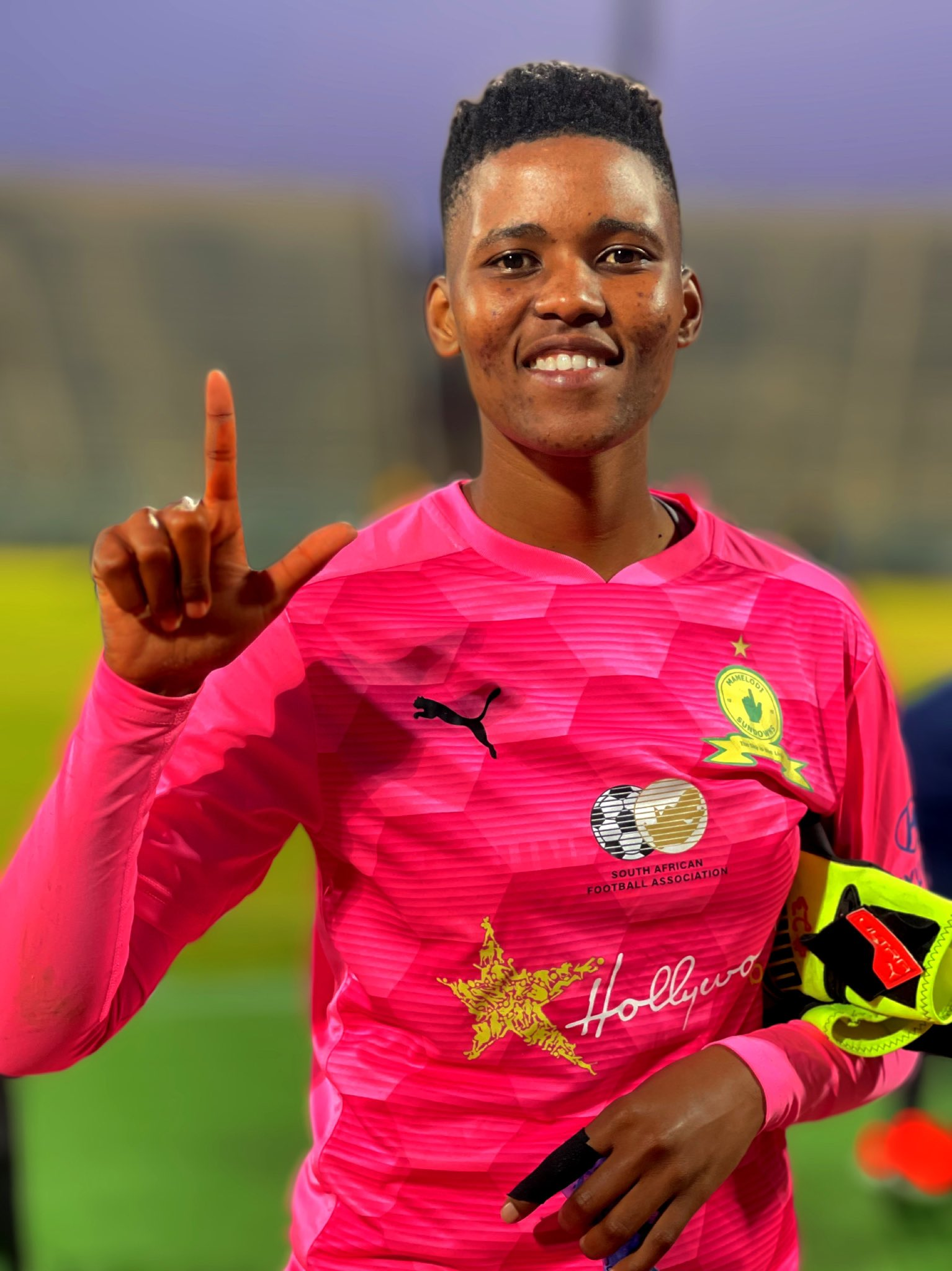 Masandawana goalkeeper Asa Rabalao