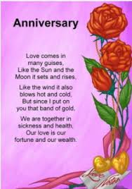 poem for anniversary