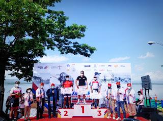Atlet Triathlon Jepara Raih Dua Medali Di kota Kendari Sulawesi Tenggara