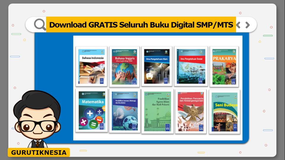 download gratis seluruh buku digital pdf smp & mts
