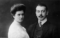 H. Burjan mit Ehemann Alexander Burjan Wien 1907 © CS