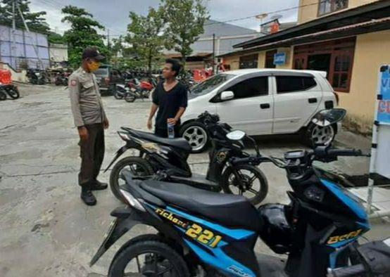 Polsek Jayapura Selatan Gelar Razia, 4 Unit Motor Terjaring