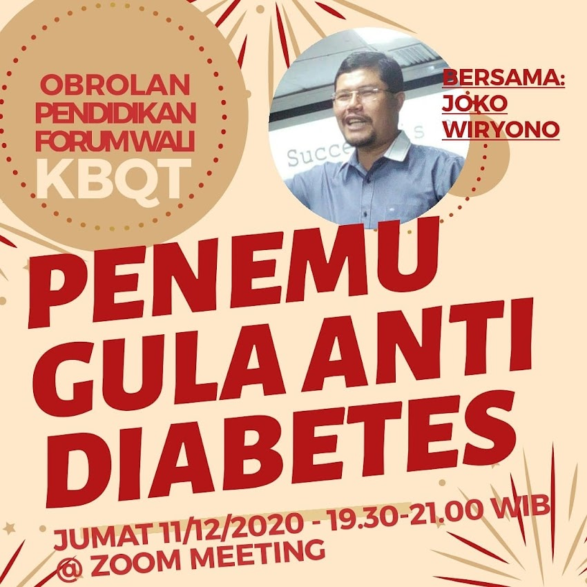 Obrolan #8 - Joko Wiryono Penemu Gula Anti Diabetes