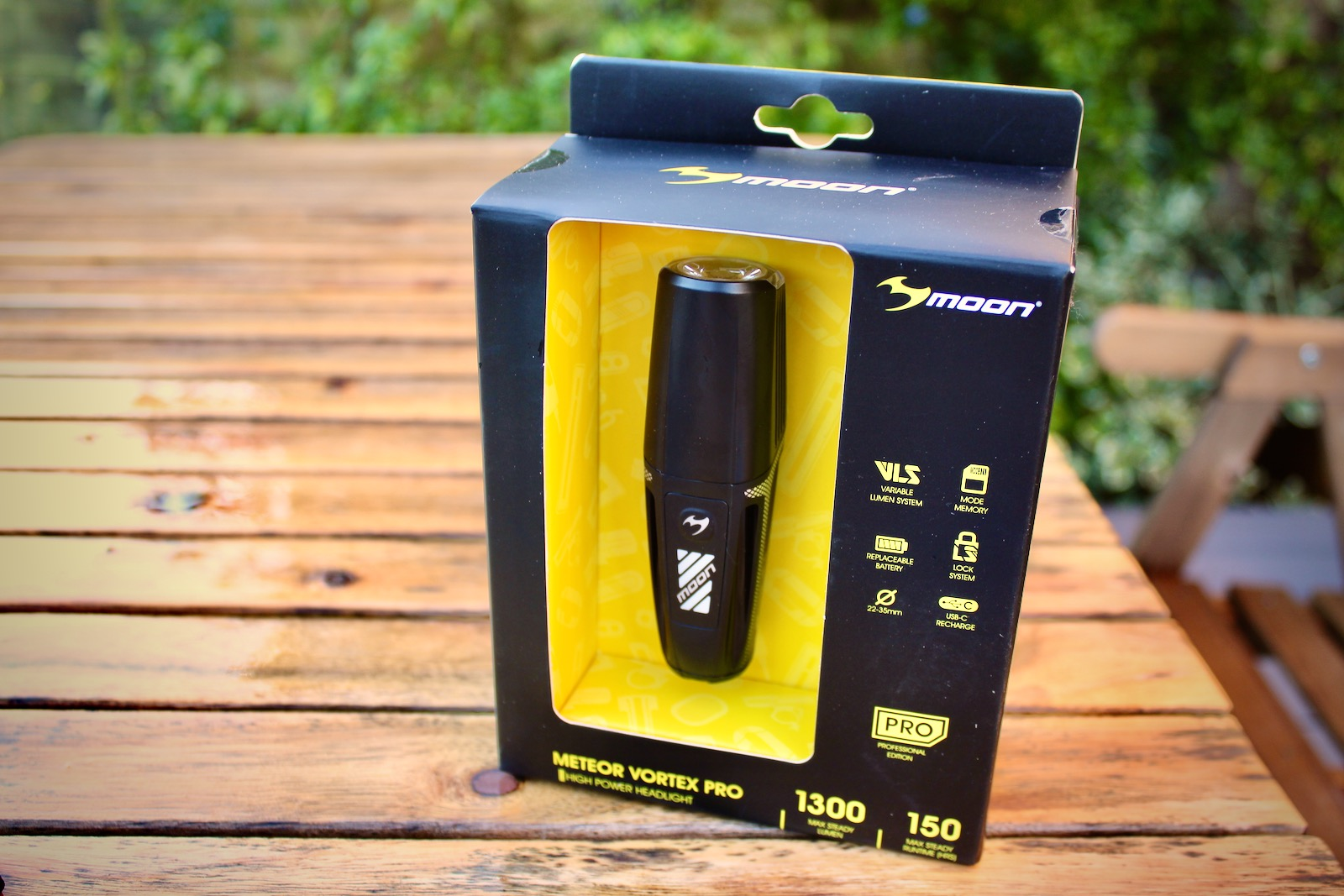 Moon Sport Vortex Pro Front Bike Light
