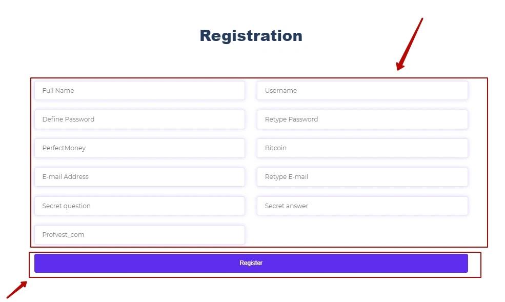 Регистрация в Crista Ltd 2