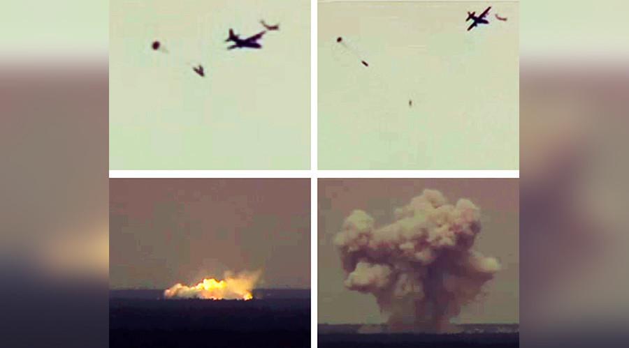 Source: Reuters - Les forces aériennes des Etats-Unis testent la MOAB