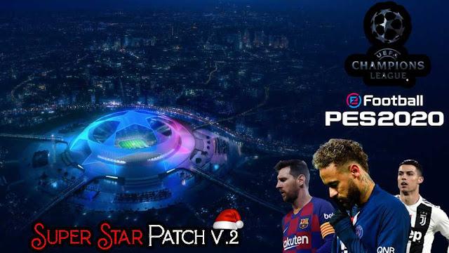 Super Star Patch V.2 2020 For eFootball PES2020