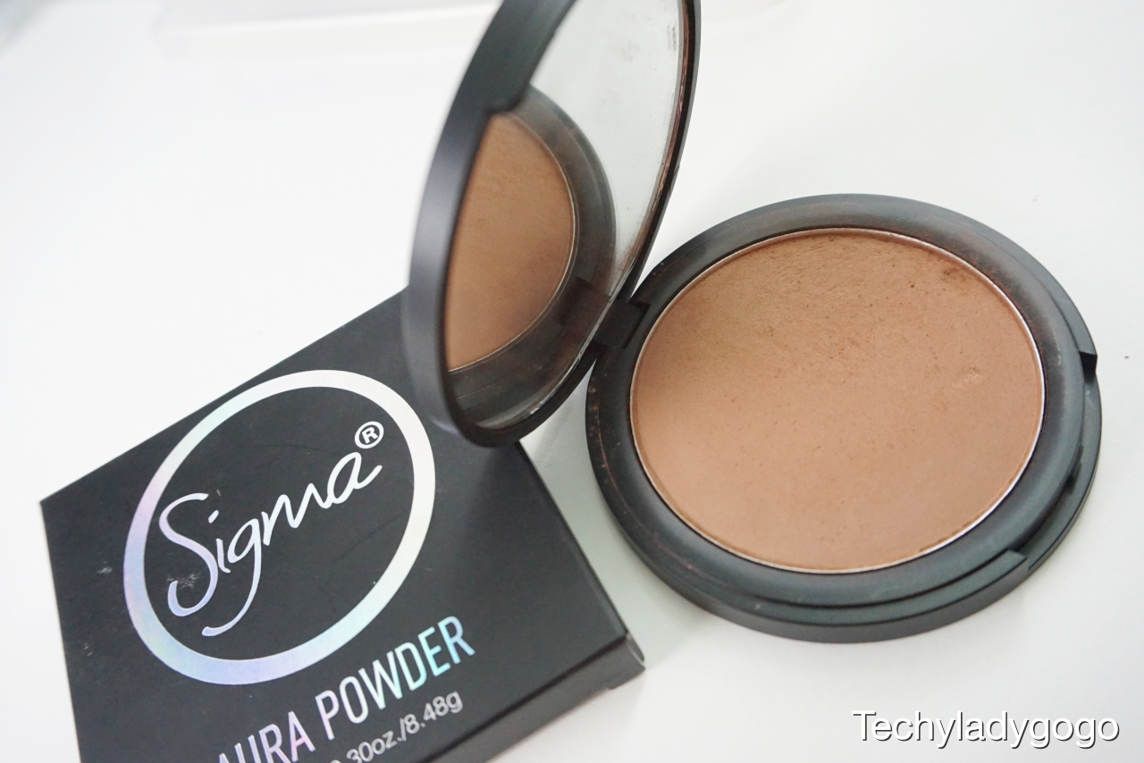 Sigma Aura Powder - สี In the Saddle