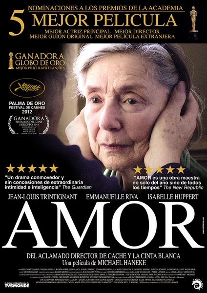 amour oscar nominations