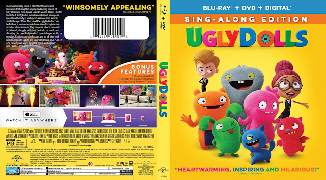 UglyDolls Bluray Cover