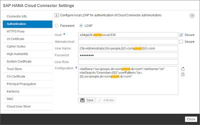 Secure your HANA Cloud Connector with OpenSSL certificates – Part 3