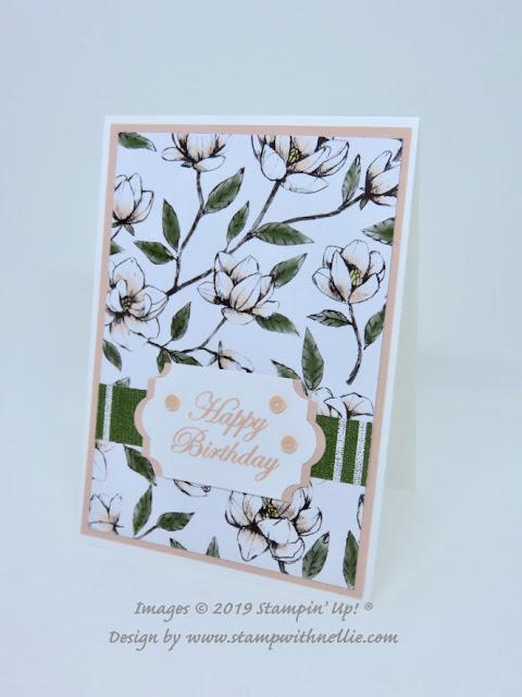 Magnolia Lane Blooms Stampin Up