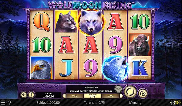 Main Gratis Slot Indonesia - Wolf Moon Rising Betsoft