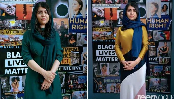 Malala Yousafzai apareceu na última portada de Teen Vogue da década