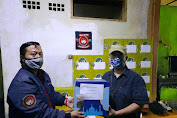 JBN Salurkan Sembako dari DR Ir Yerry Yanuar Untuk Wartawan Terdampak Covid-19