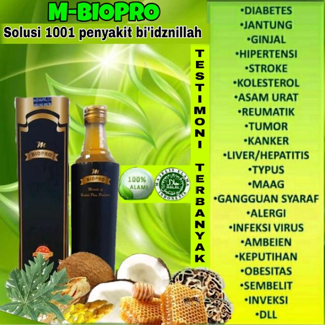 MBioPro Solusi 1001 Macam Penyakit