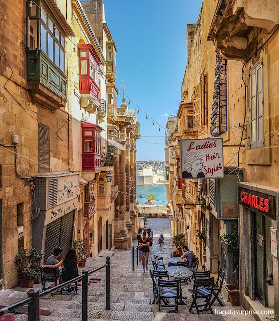 Restaurante em Valeta, Malta
